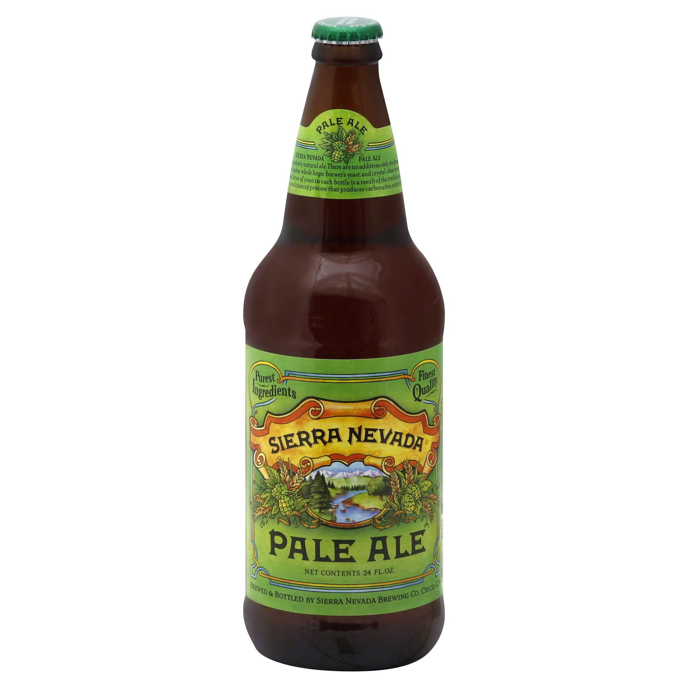 Sierra Nevada Ale, Pale - 24 fl oz