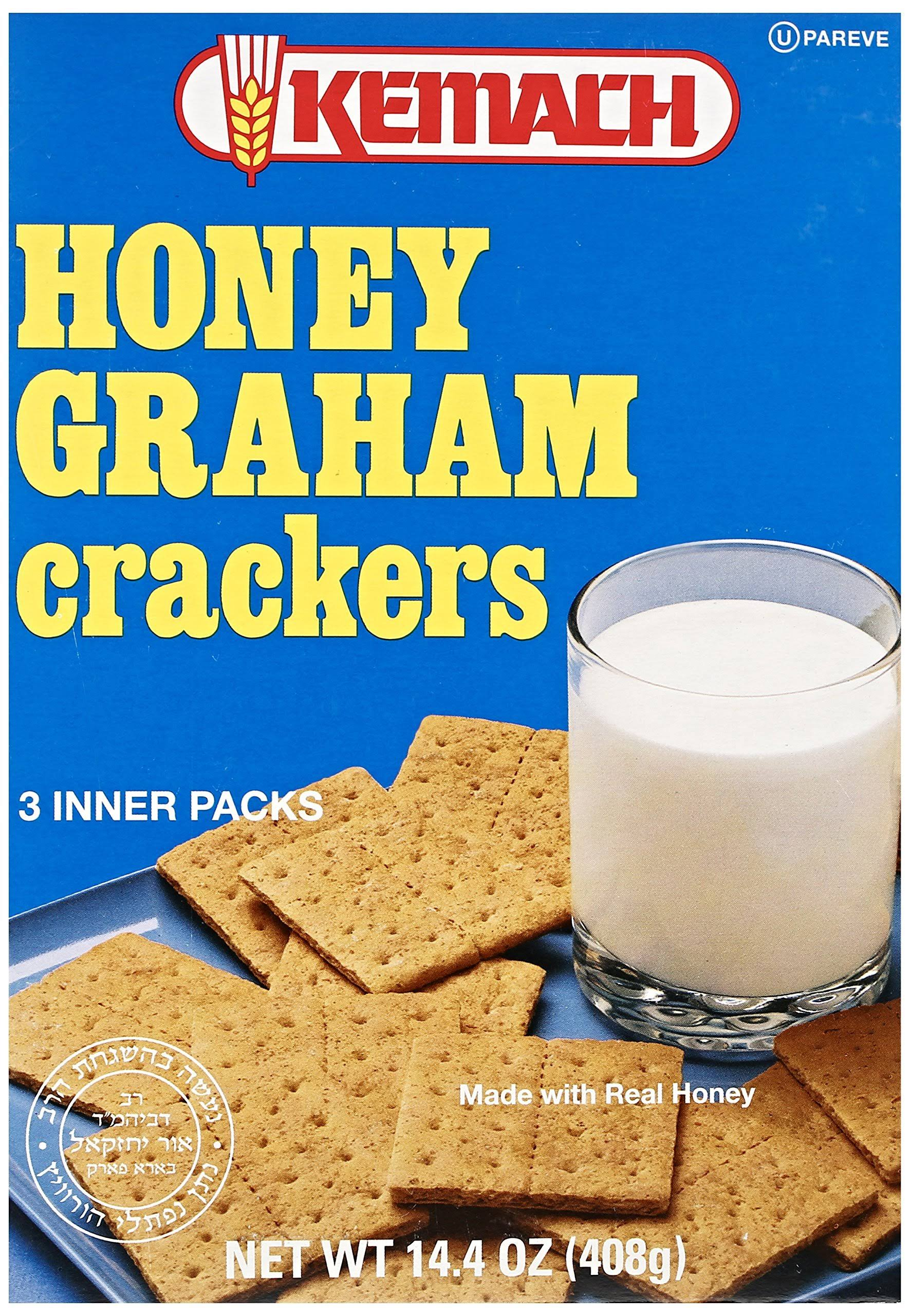 Kemach Honey Graham Crackers 14.4 oz