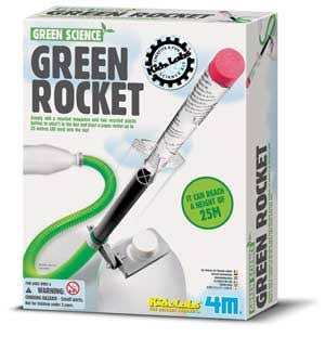 4M Green Rocket Model Kit