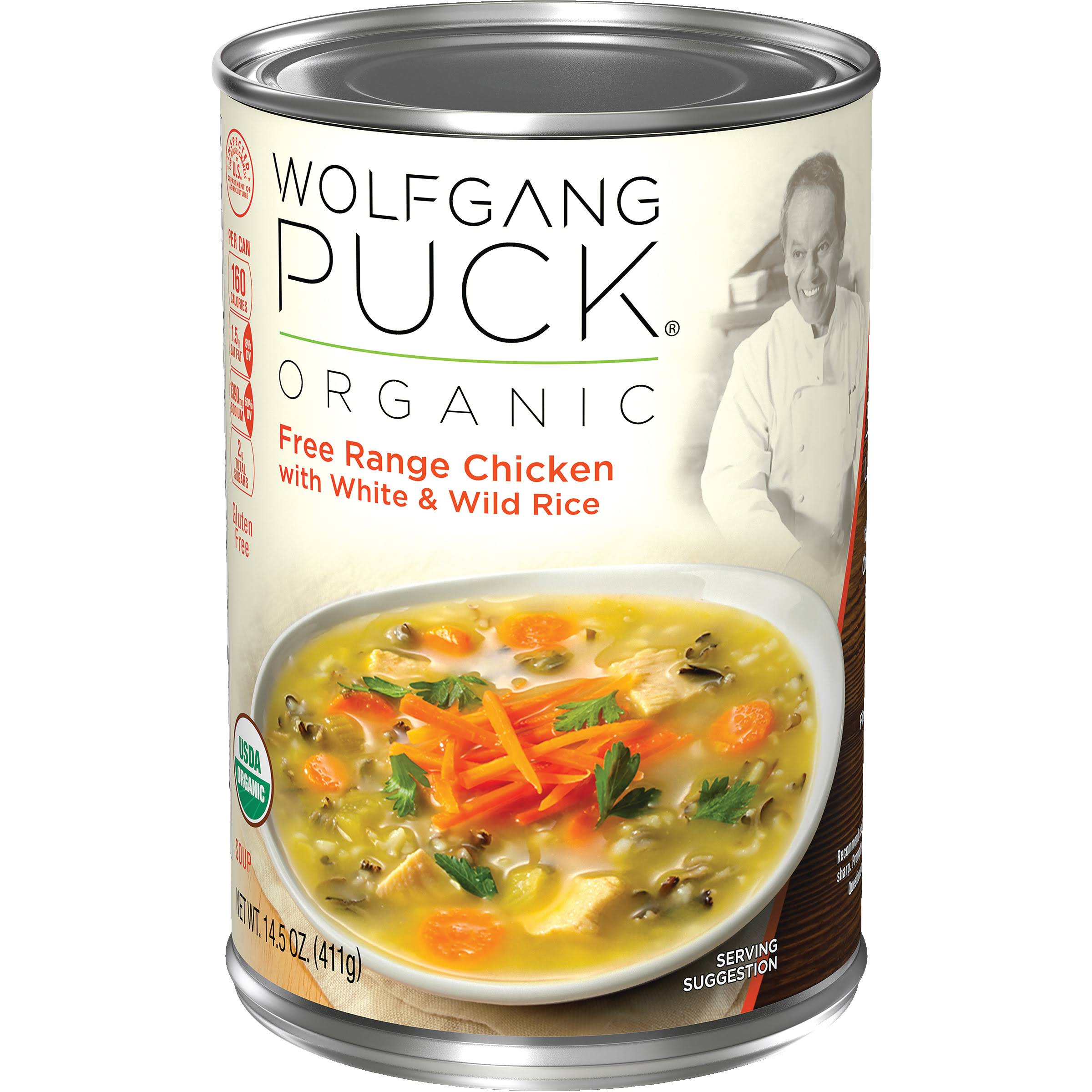 Wolfgang Puck Organic Chicken with White & Wild Rice Soup