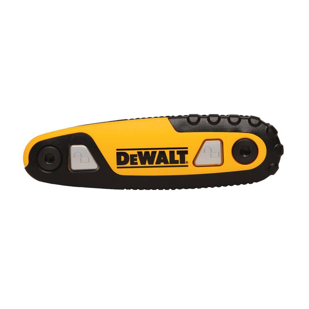 Dewalt Folding and Locking Hex Key Set