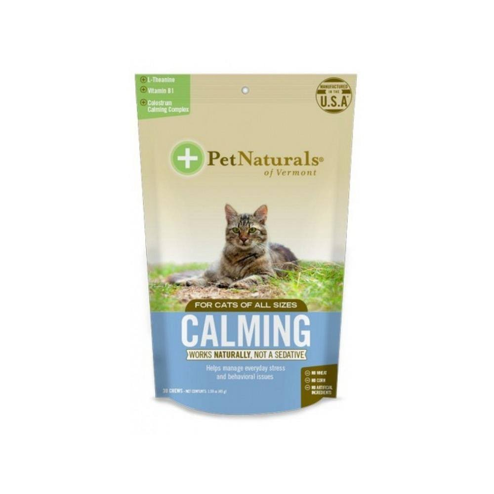 Pet Naturals Calming Cat Chews - 30 Chews