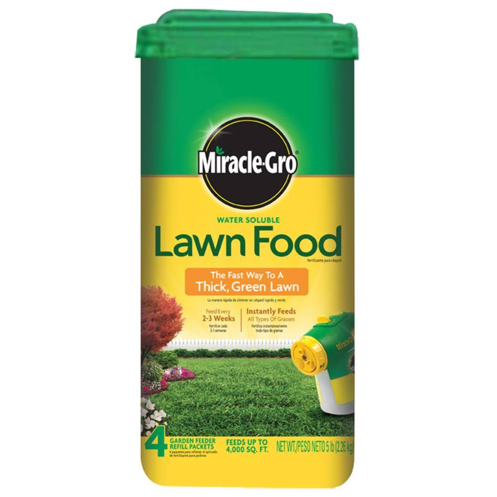 The Scotts Miracle-Gro Lawn Food - 5 lb