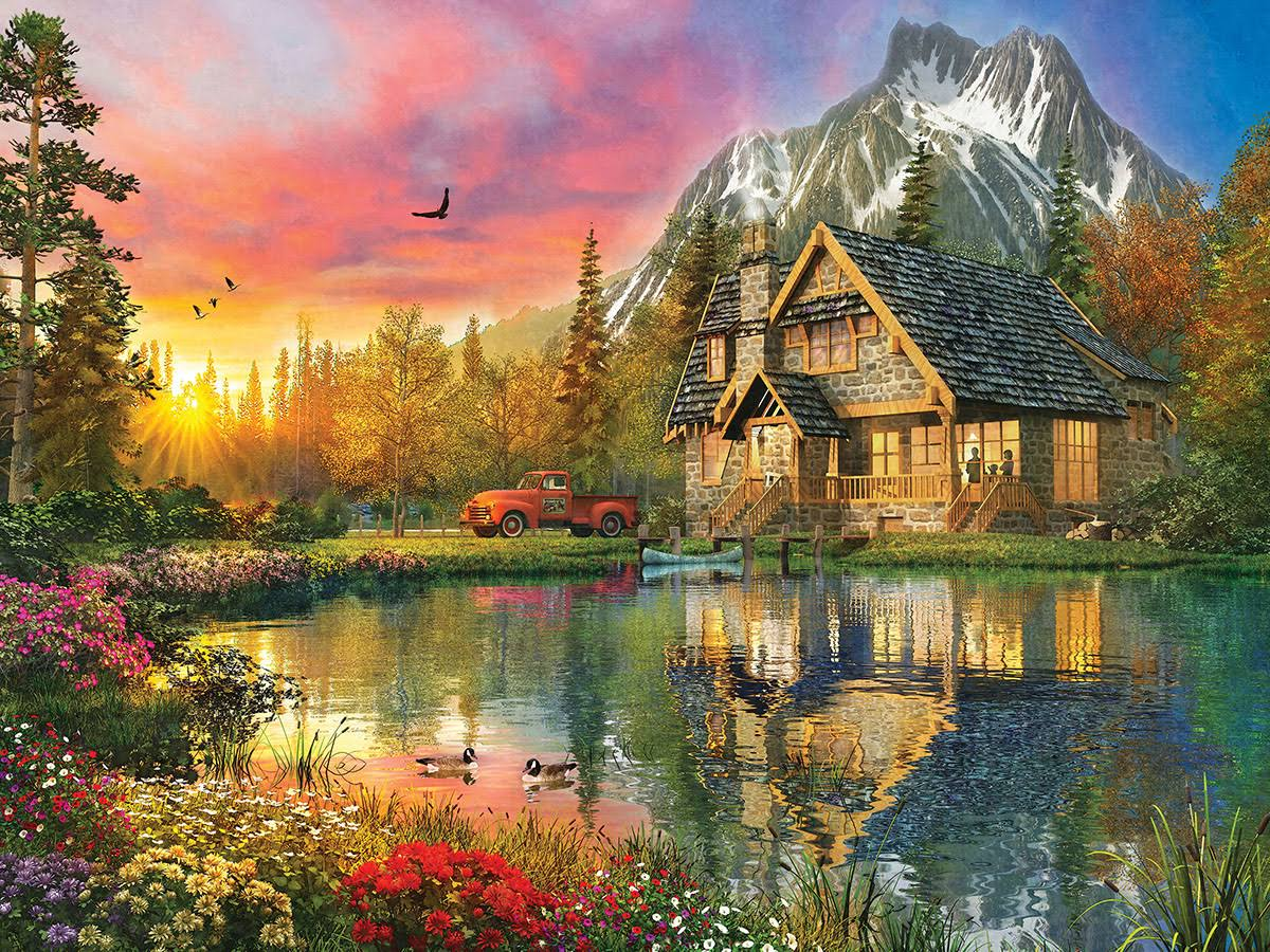 Master Pieces The Great Outdoors Puzzle, Breath of Fresh Air