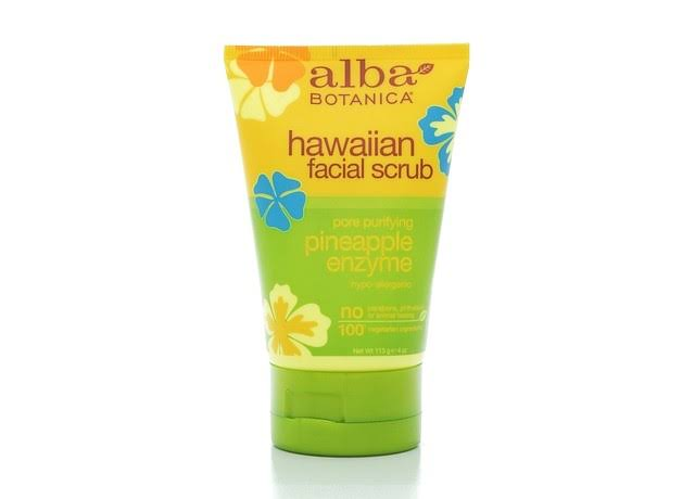 Alba Botanica Hawaiian Facial Scrub - Pineapple Enzyme, 4 fl oz