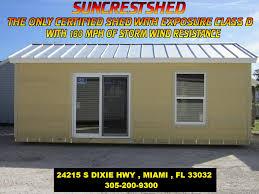 Storage Sheds Jacksonville Fl by Suncrest Sheds State And County Approved Sheds Suncrestshed