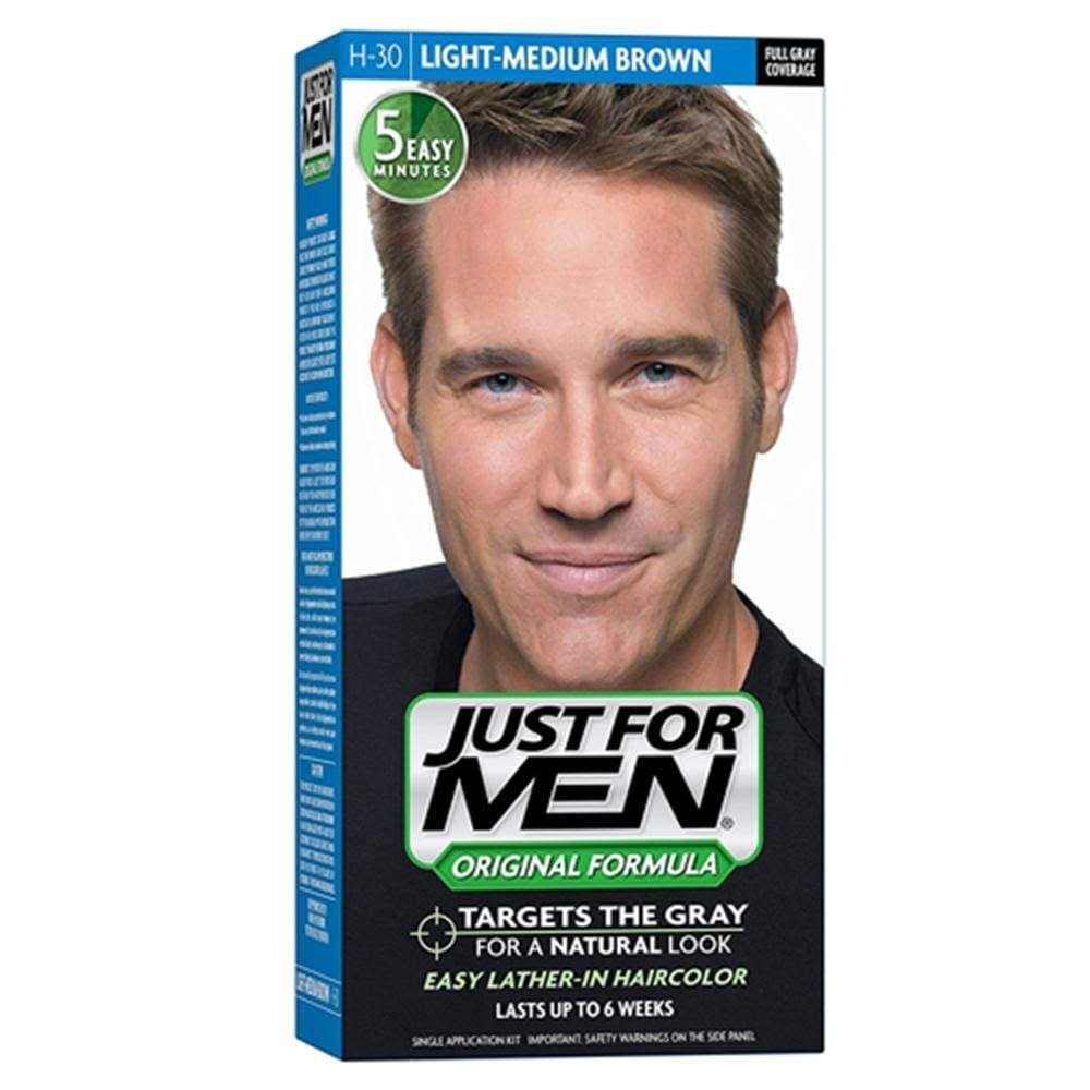 Just For Men Original Formula Men's Hair Color - Light Medium Brown