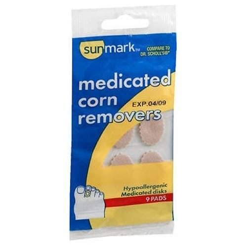 Sunmark Medicated Corn Removers - 9 Pads