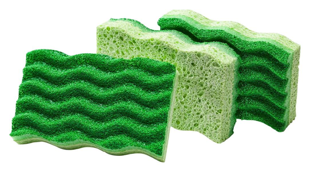 Libman Medium Duty Sponge - 3 Pack