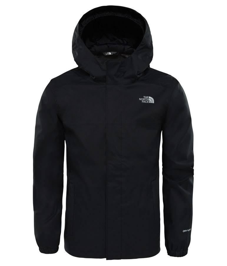 The North Face Boys Resolve Reflective Jacket TNF Black