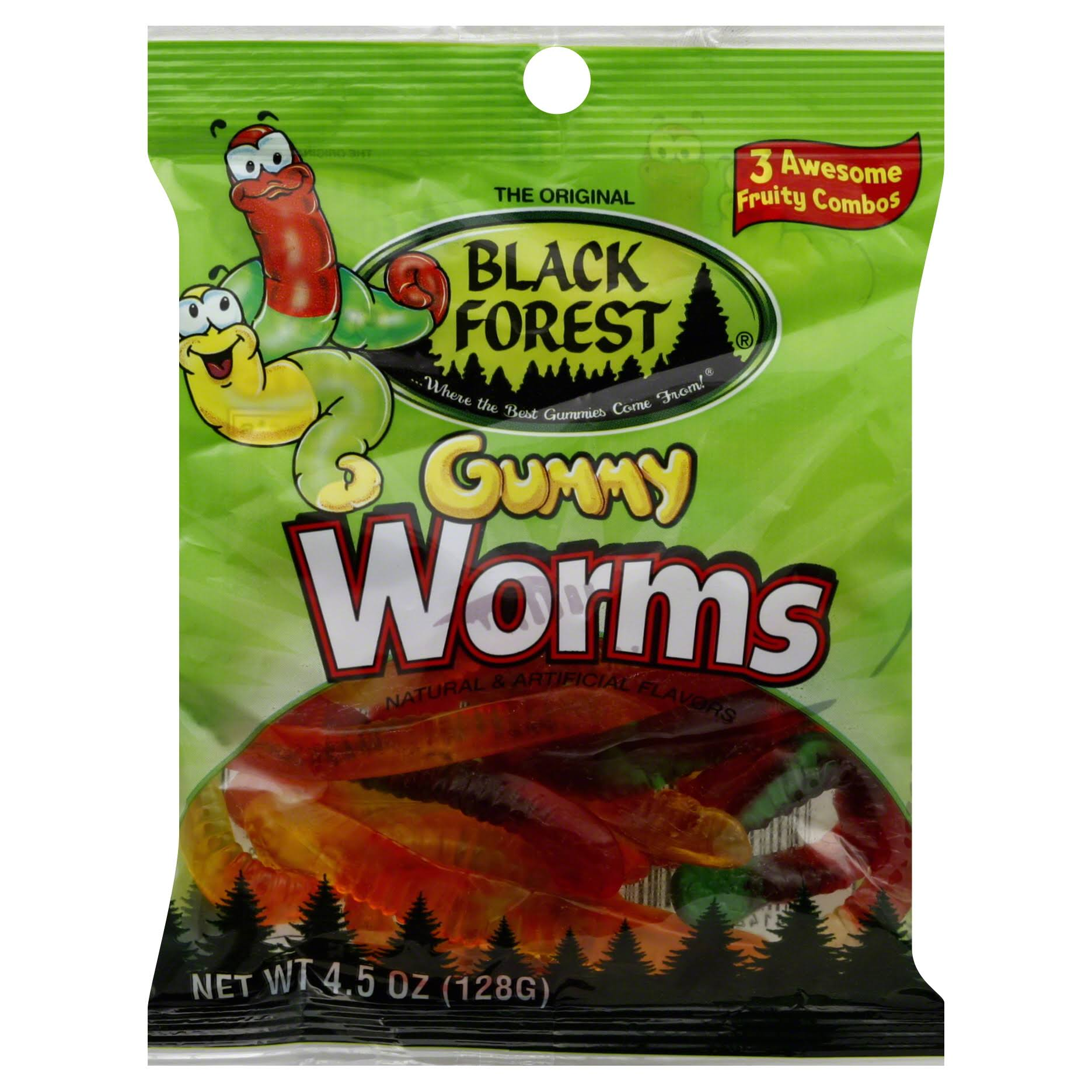 Black Forest Gummy Worms - 153g