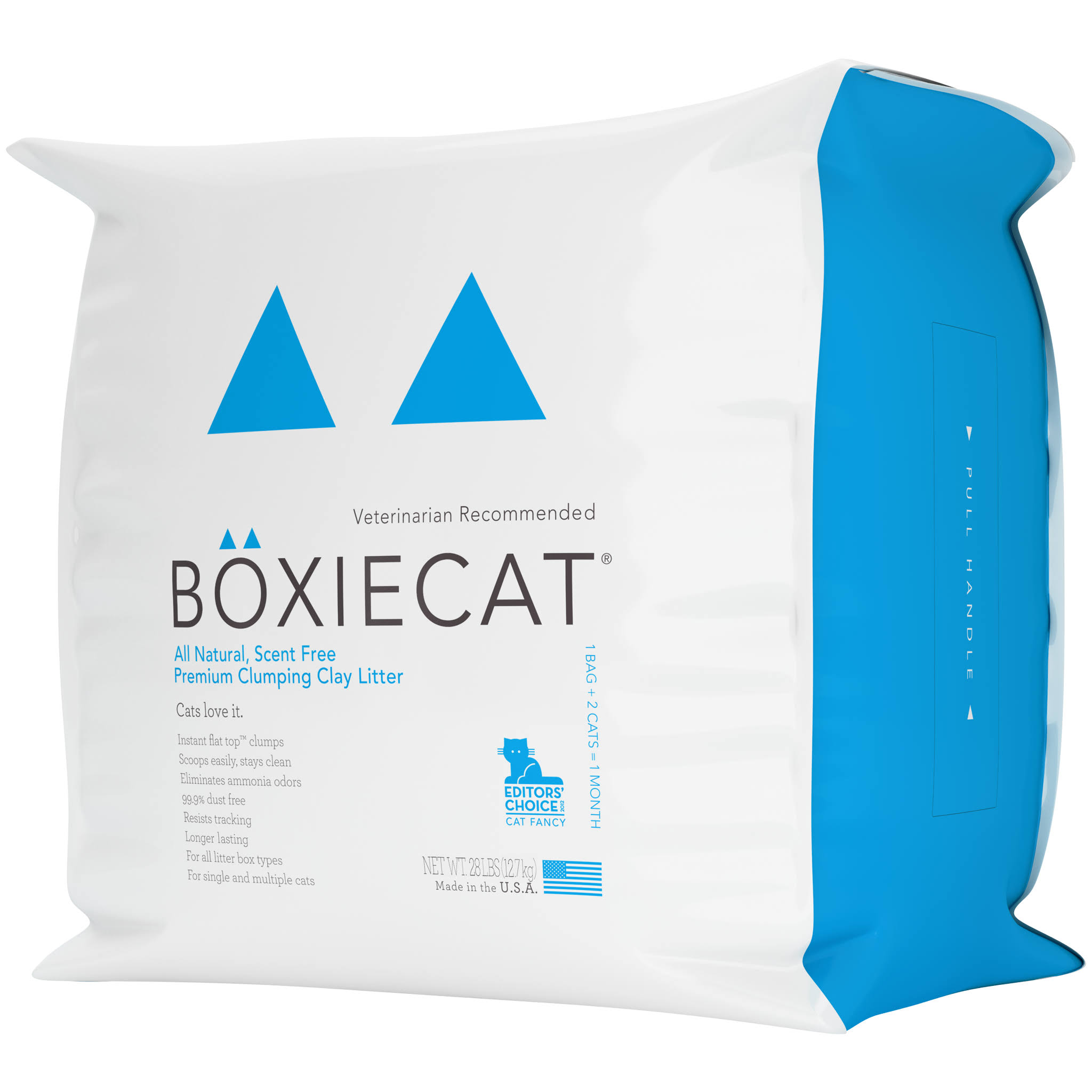 Boxiecat Premium Clumping Clay Cat Litter