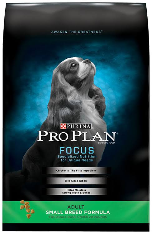 Purina Pro Plan Focus Small Breed Formula Dry Dog Food