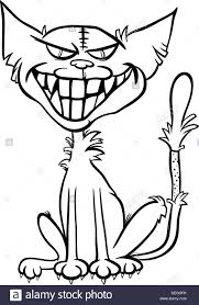 Scary Halloween Coloring Pages Online by Black And White Cartoon Illustration Of Scary Halloween Zombie Bad
