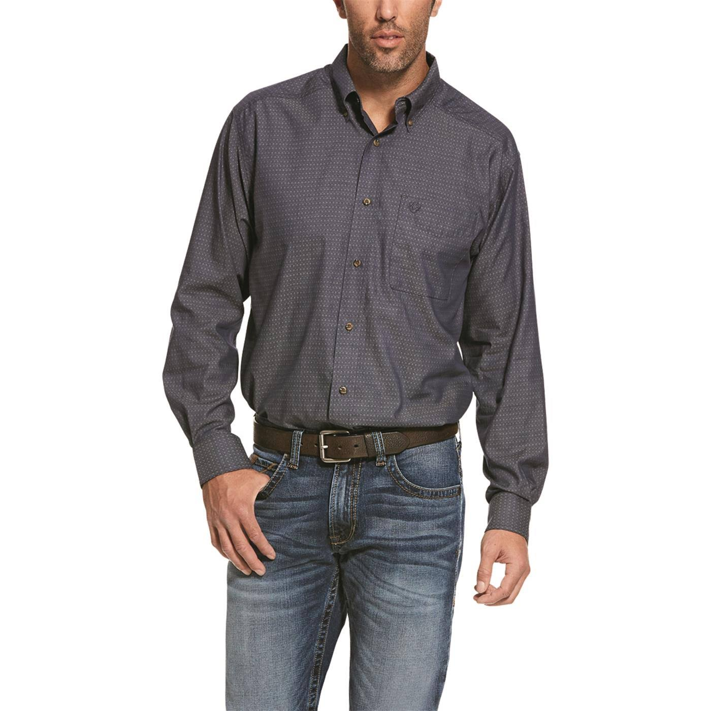 Ariat Men's Searson Classic Night Sky Long Sleeve Shirt