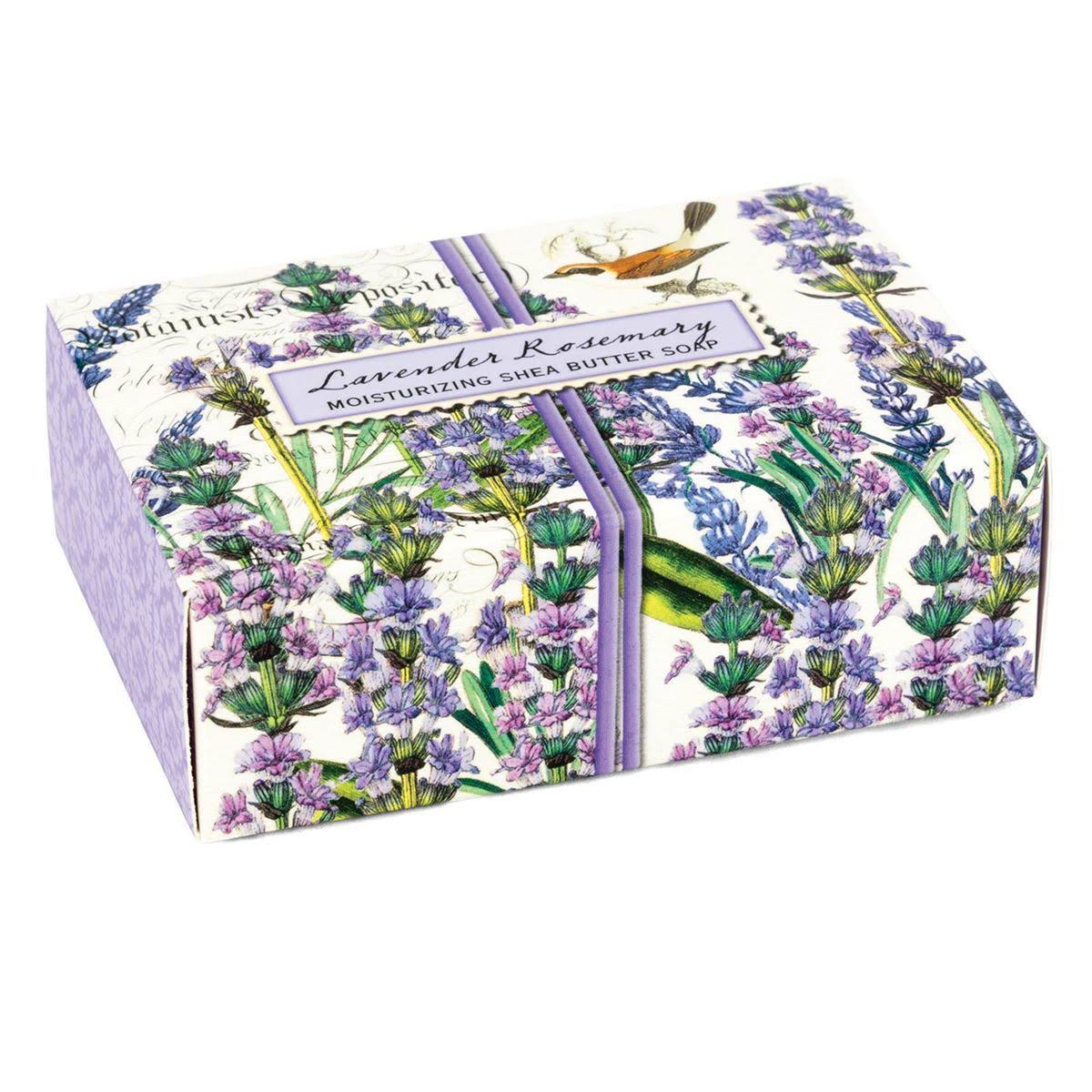 Michel Design Works 4.5oz Boxed Single Soap, Lavender Rosemary