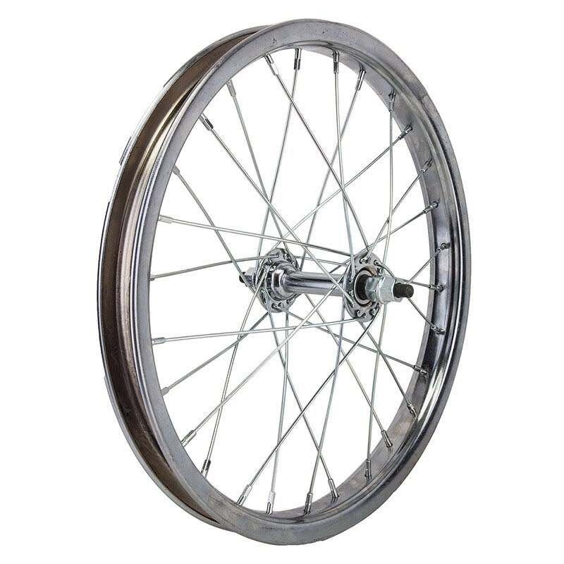 "Wheel Master Bicycle Front Wheel - Silver, 16"" x 1.75"""