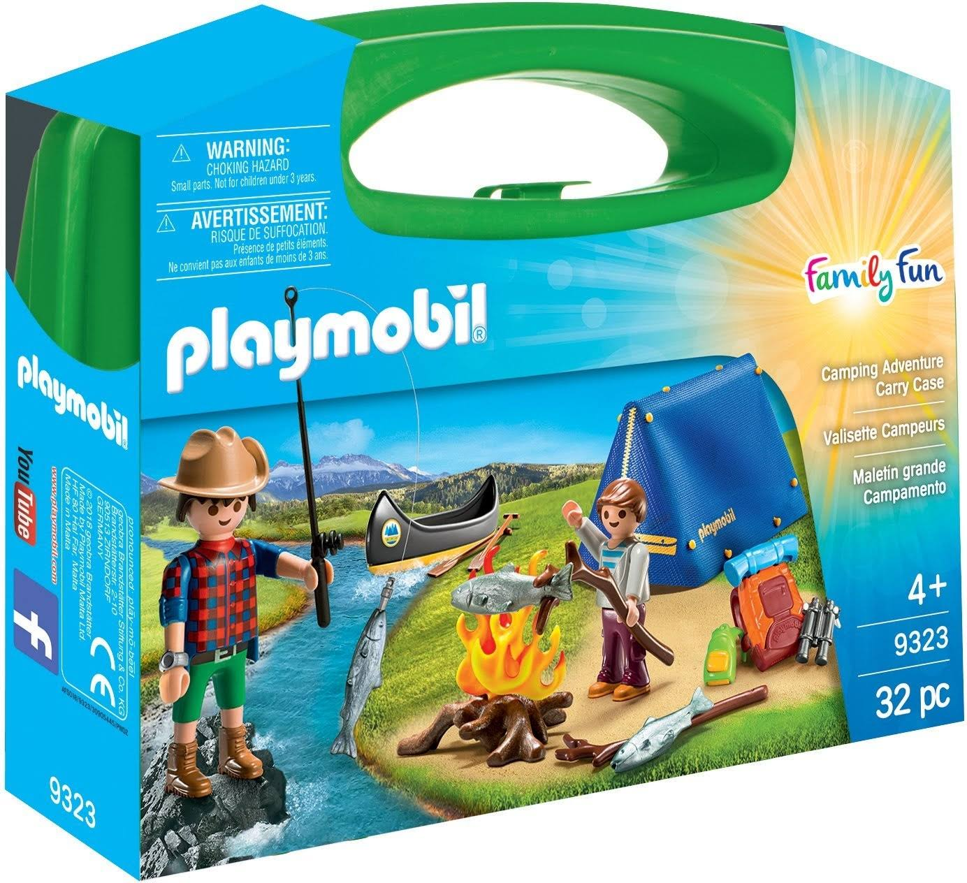 Playmobil 9323 Camping Adventure Carry Case Playset