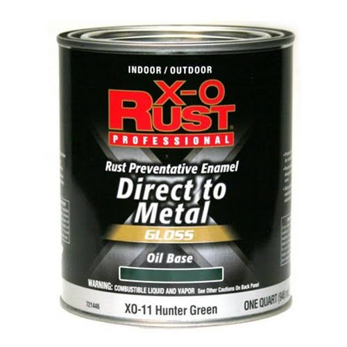 True Value Mfg Company Xo11-qt XO Oil Enamel - 1qt, Hunter Green