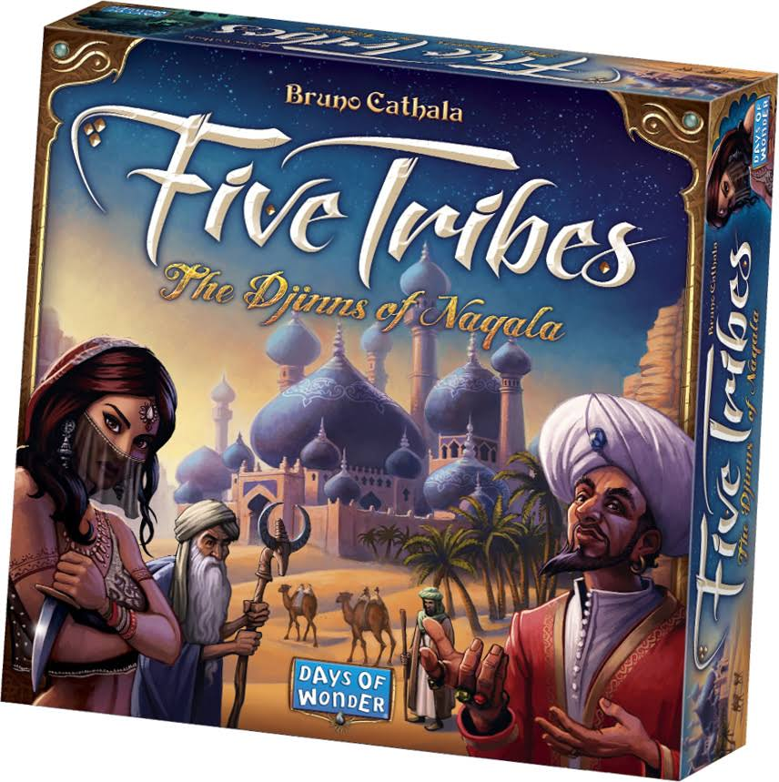 Days of Wonder Five Tribes Board Games