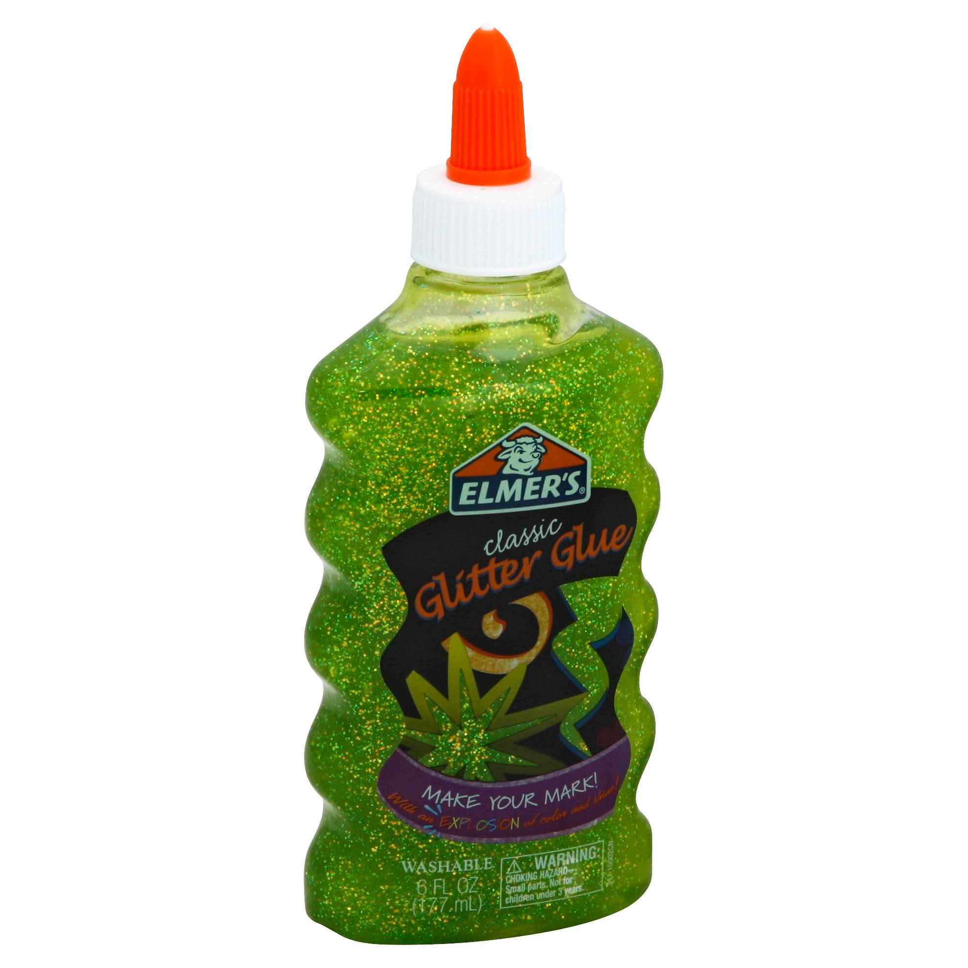 Elmer's Liquid Glitter Glue - Green, 6oz