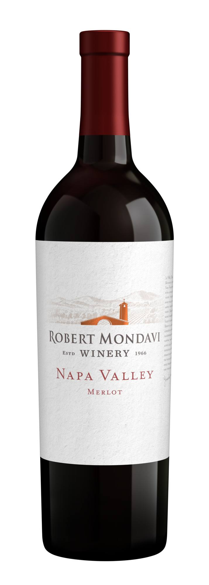 Robert Mondavi Winery Merlot Napa Valley