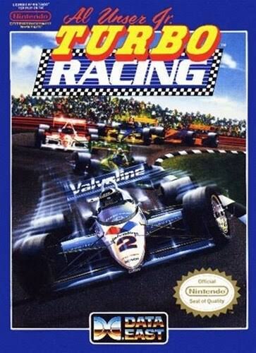 Al Unser Jr. Turbo Racing - NES