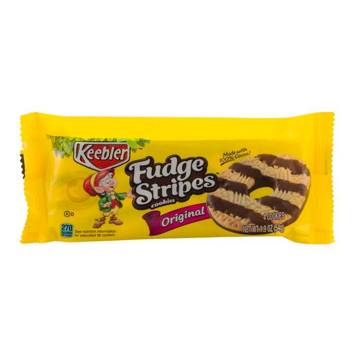 Keebler Fudge Stripes Cookies - Original