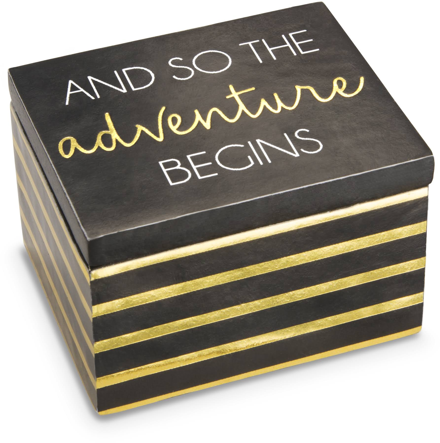 Pavilion Gift Company and So The Adventure Begins Keepsake Box