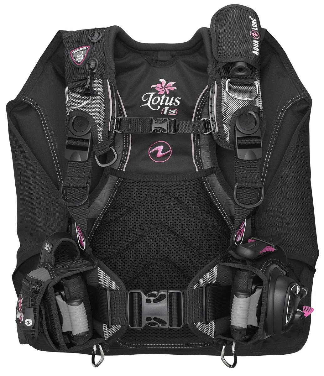 Aqua Lung Lotus i3 BC BCD Womens Scuba Diving Buoyancy Compensator