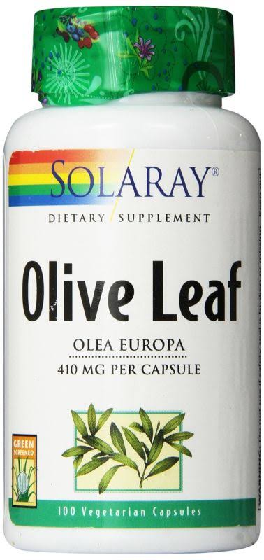 Solaray Olive Leaf Supplement - 410mg, 100ct