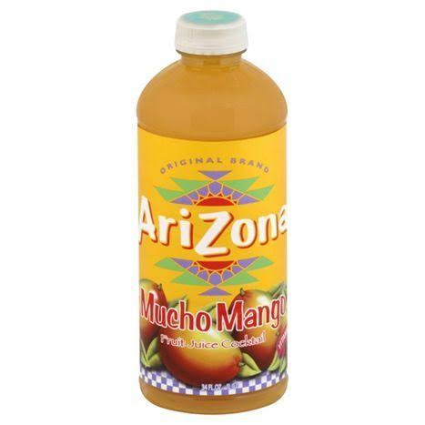 Arizona Fruit Juice Cocktail, Mucho Mango - 34 fl oz