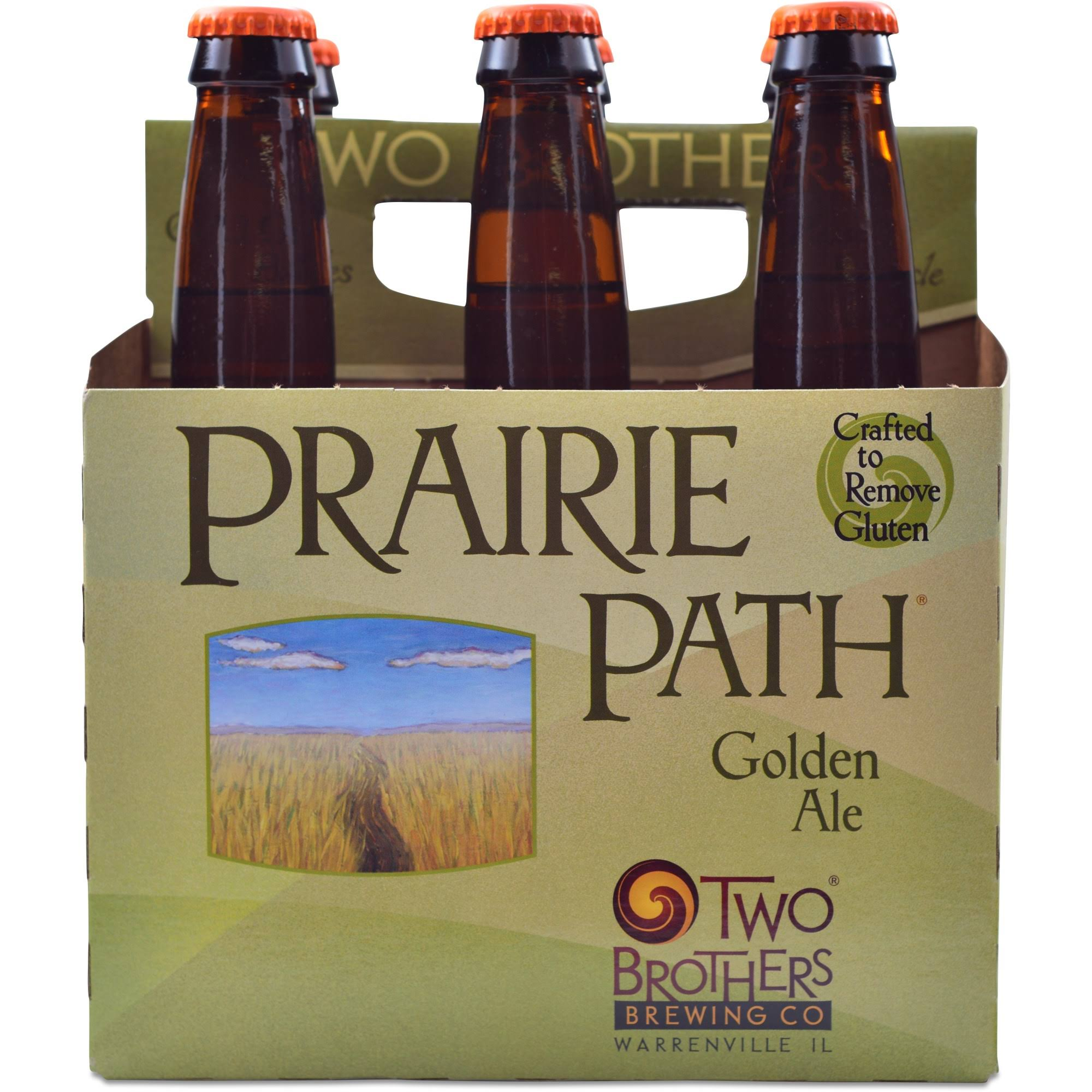 Two Brothers Brewing Company Prairie Path Golden Ale - 6pk x 12oz