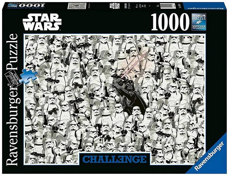Ravensburger Star Wars Jigsaw Puzzle - Challenge, 1000pcs