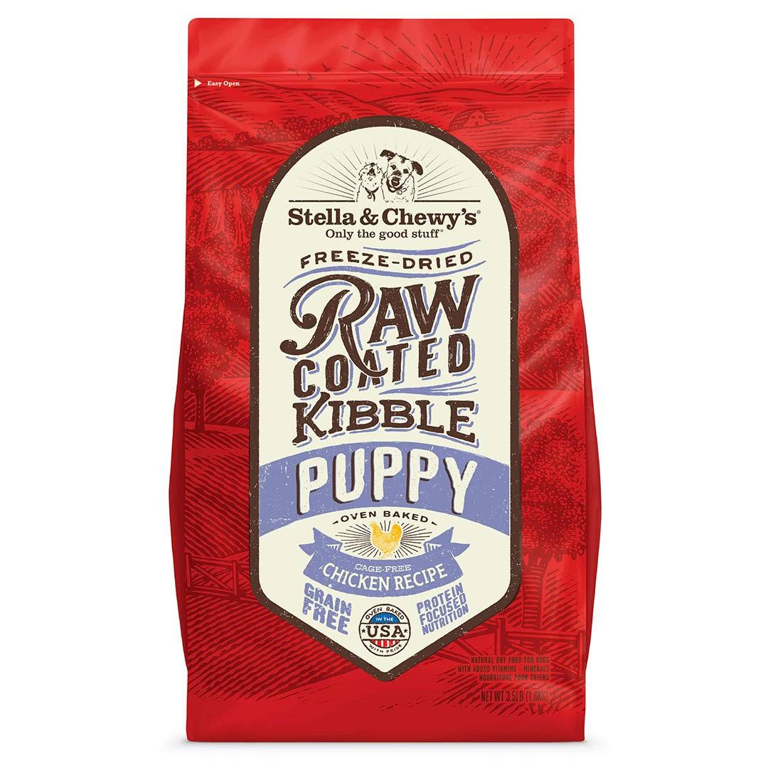 Stella & Chewy's Puppy Raw Coated Kibble - Cage-Free Chicken 3.5lb