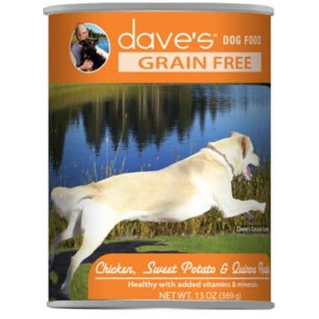 Dave's Pet Food Dave's Grain Free Chicken, Sweet Potato & Quinoa Recipe Canned Dog