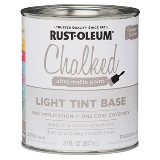 Rust-Oleum Light Tint Base Ultra Matte Paint