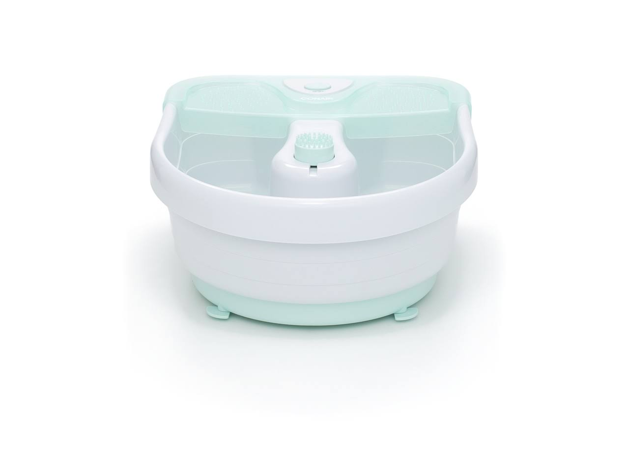 Conair Relaxing Spa Foot Bath Model With Bubbles Heat and Massage