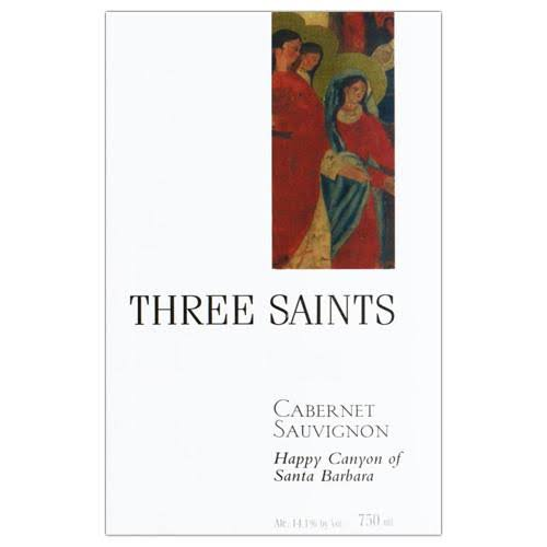Three Saints Cabernet Sauvignon Santa Ynez Valley