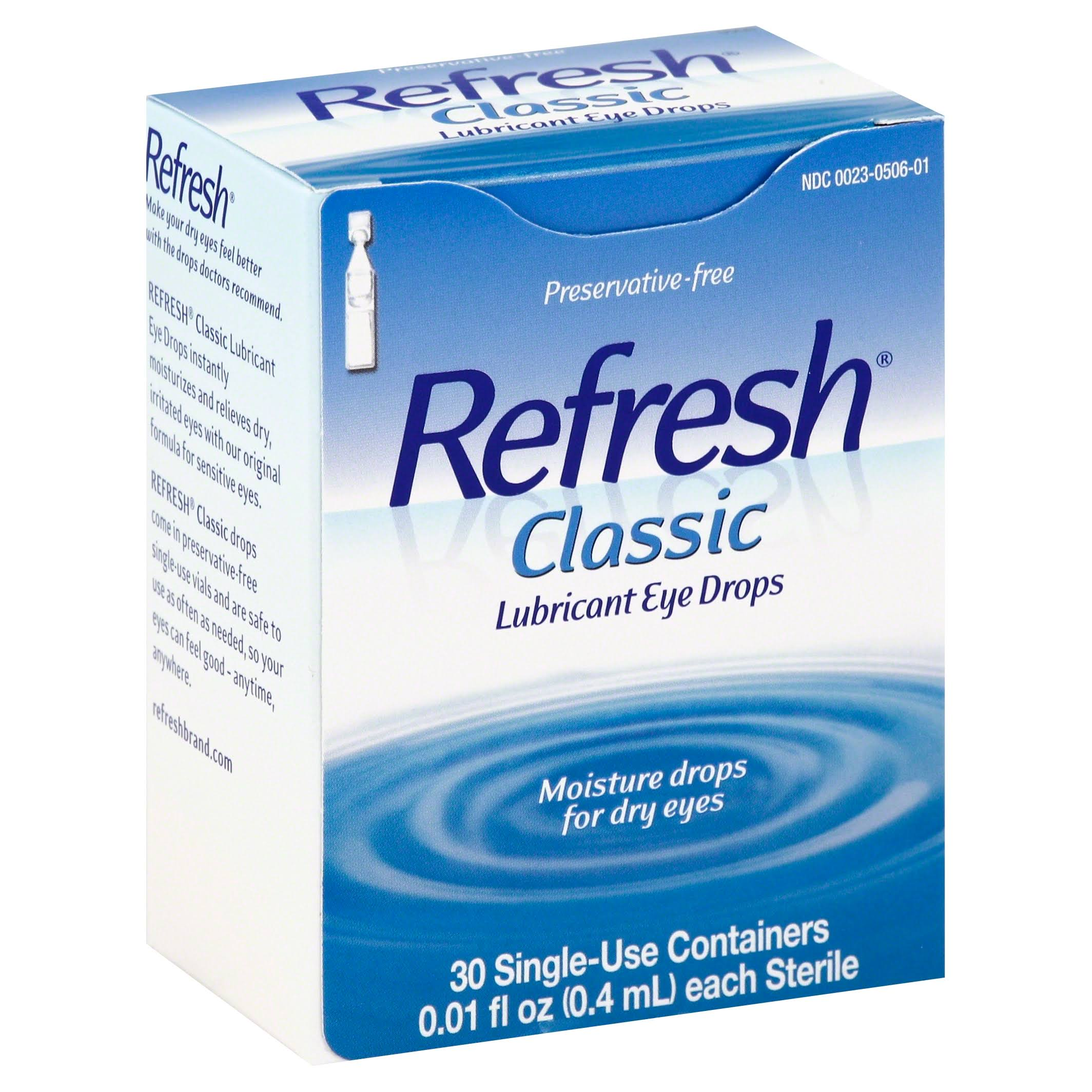 Refresh Classic Lubricant Eye Drops - 0.01oz
