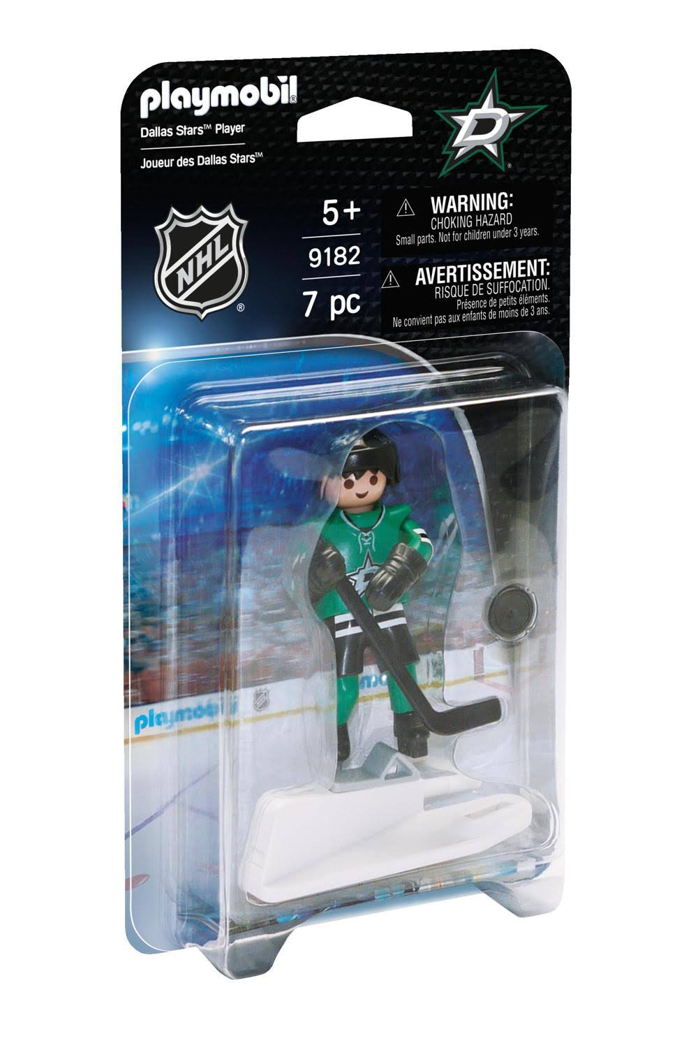 Playmobil NHL Dallas Stars Player Action Figure