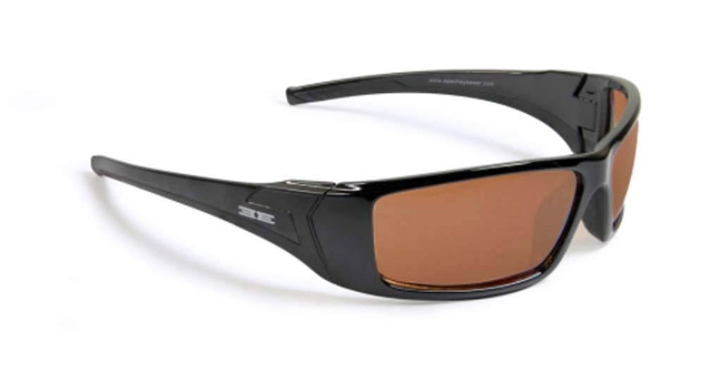 Epoch Eyewear Sunglasses Style Epoch 3 Black with Amber Lens