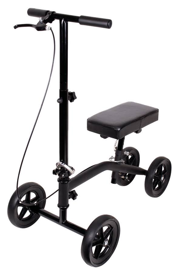 Carex Knee Walker Scooter with Padded Knee Seat