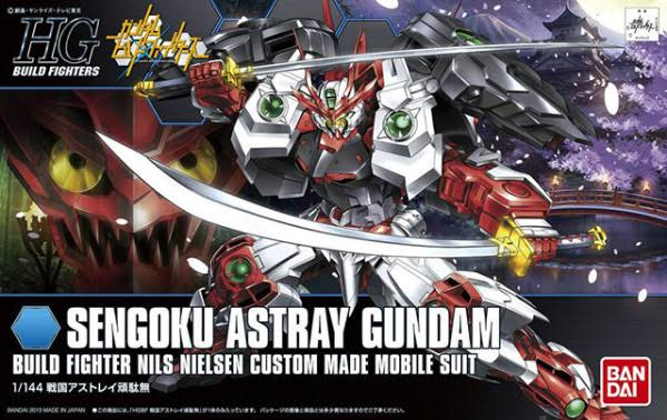 Bandai Sengoku Astray Gundam 1/144 Model Kit - Gundam Build Fighters