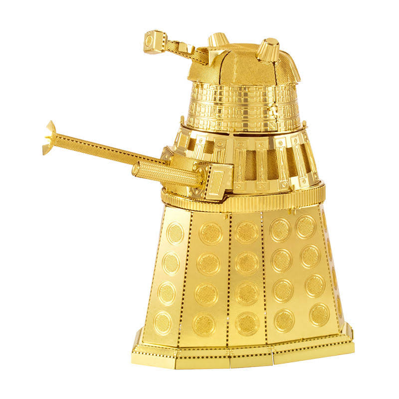 Metal Earth - Gold Dalek Doctor Who 3D Metal Model Kit