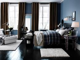 Masculine Bedroom Colors by Grey Black And Blue Bedroom Excellent Blue Painted Rooms With