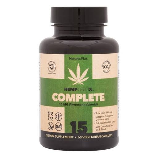 Nature's Plus HempCeutix Complete 15mg vcaps 60