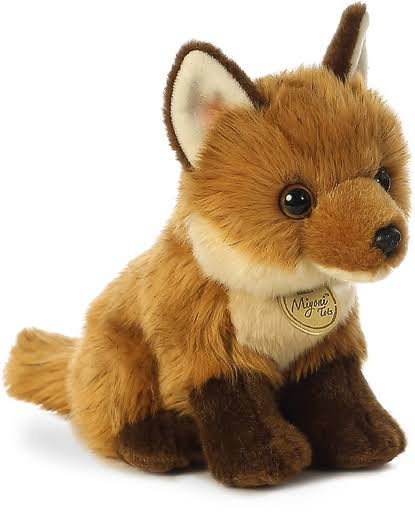 Aurora World Miyoni Tots Fox Kit Plush Toy