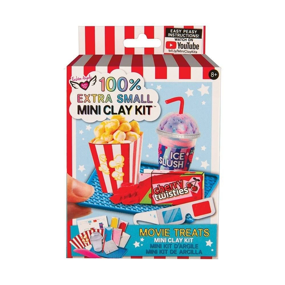 Fashion Angels 100% Extra Small Movie Treats Mini Clay Kit