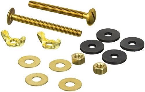 LDR 503 2350 Tank To Bowl Brass Bolt Set